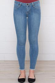 Just USA Frayed Cropped Skinnies - Product Mini Image
