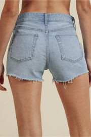 Just USA High-Rise Frayed Short - Side cropped