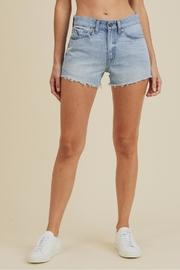 Just USA High-Rise Frayed Short - Front cropped