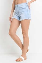 Just USA Peek-A-Boo Short - Front cropped
