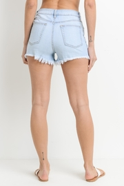Just USA Peek-A-Boo Short - Side cropped