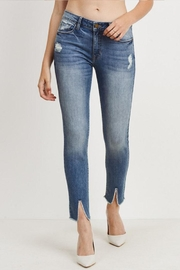 Just USA Slit Hem Jeans - Product Mini Image