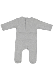 Juste Clé Grey White Stretchy - Front full body