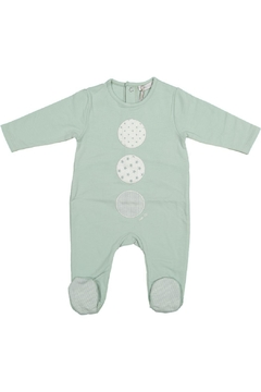 Shoptiques Product: Mint Onesie With Circles