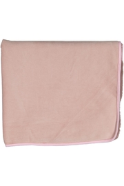 Juste Clé Purple And Pink Fur Blanket - Side cropped