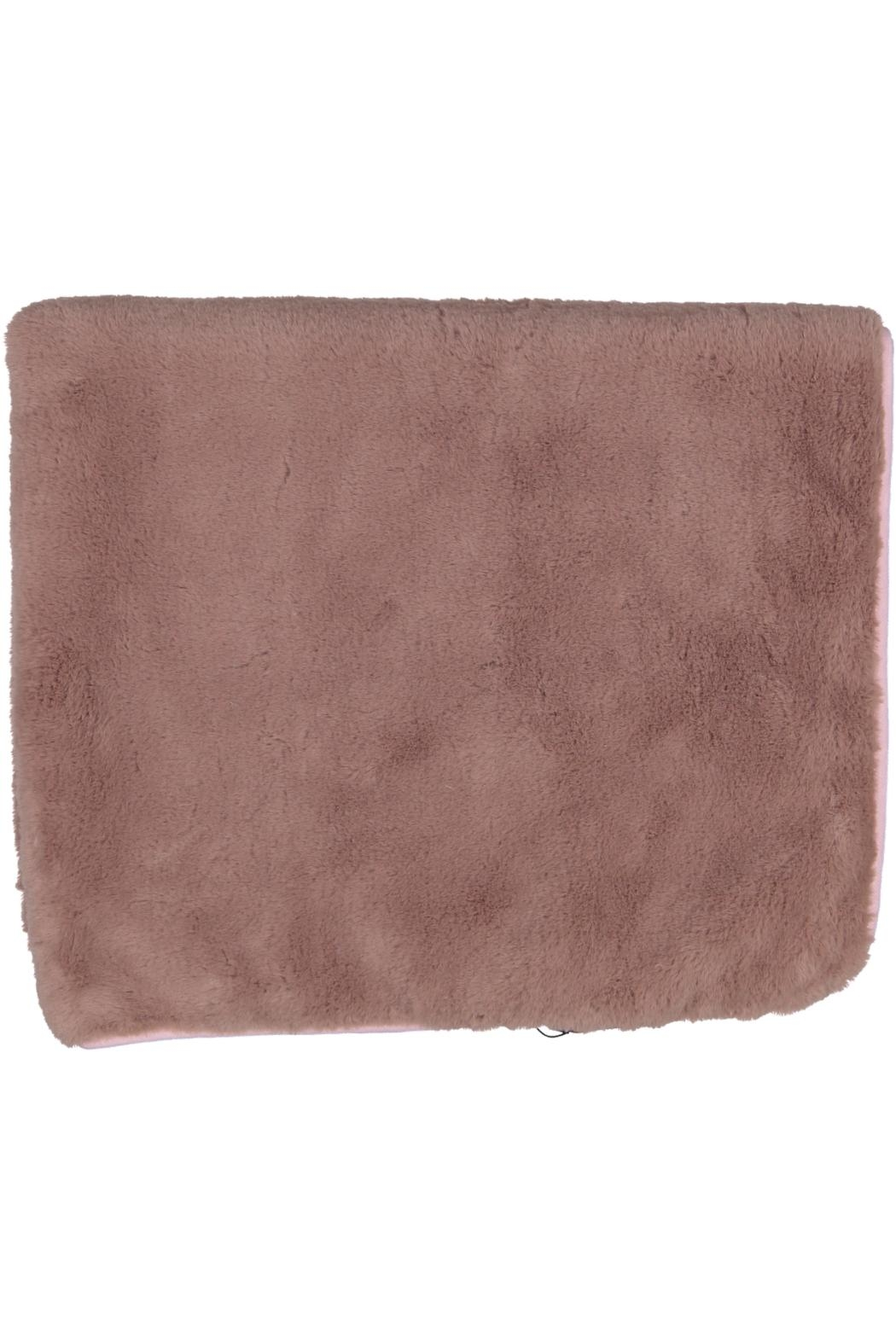 Juste Clé Purple And Pink Fur Blanket - Front Full Image