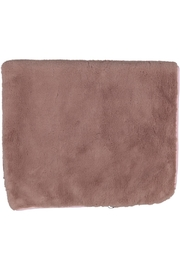 Juste Clé Purple And Pink Fur Blanket - Front full body
