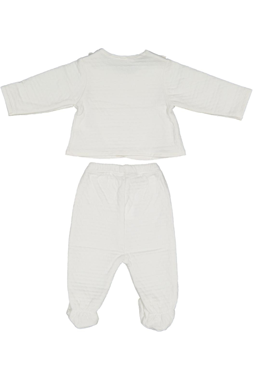 Juste Clé White 2pc Set - Front Full Image
