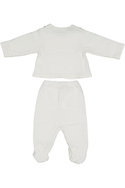 Juste Clé White 2pc Set - Front full body