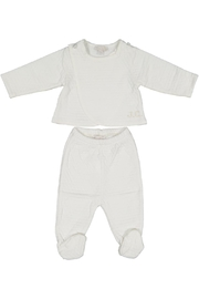 Juste Clé White 2pc Set - Front cropped