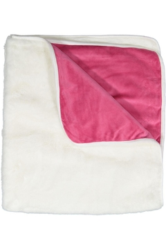 Shoptiques Product: White Pink Fur Blanket