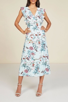 Willow & Clay Justene Wrap Dress - Product List Image