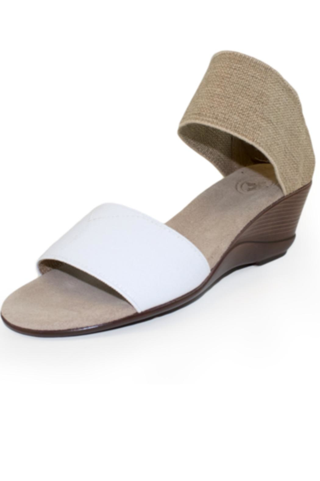 CHARLESTON Justice Wedge Sandal - Front Cropped Image