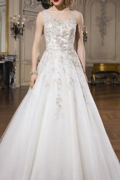 Justin Alexander Strapless Bridal Gown - Product List Image