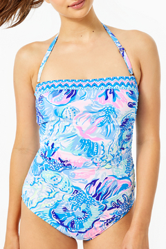 Lilly Pulitzer Justina Convertible Swimsuit - Product List Image