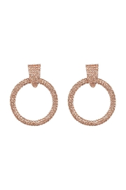 Madison Avenue Accessories Justina Sparkle Hoop - Product Mini Image