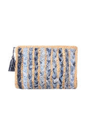 America & Beyond Jute Clutch - Product Mini Image
