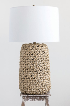 Creative Co-Op Jute Rope Table Lamp - Product List Image