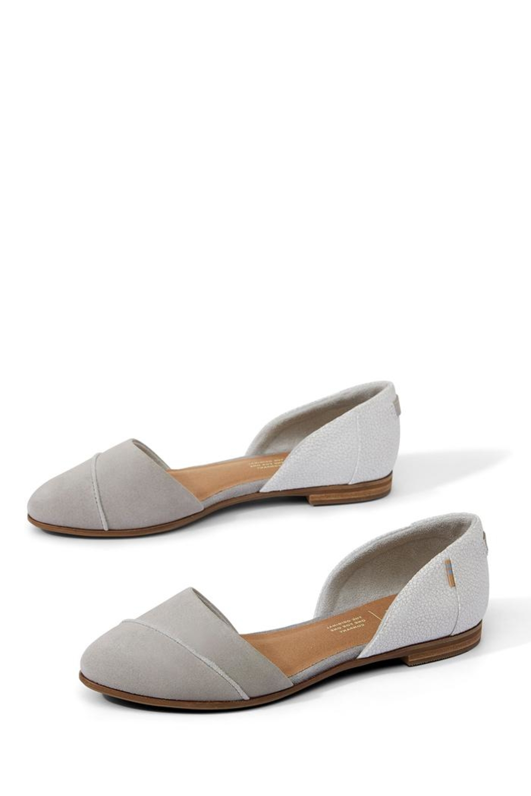 TOMS Jutti D'orsay Flat - Side Cropped Image