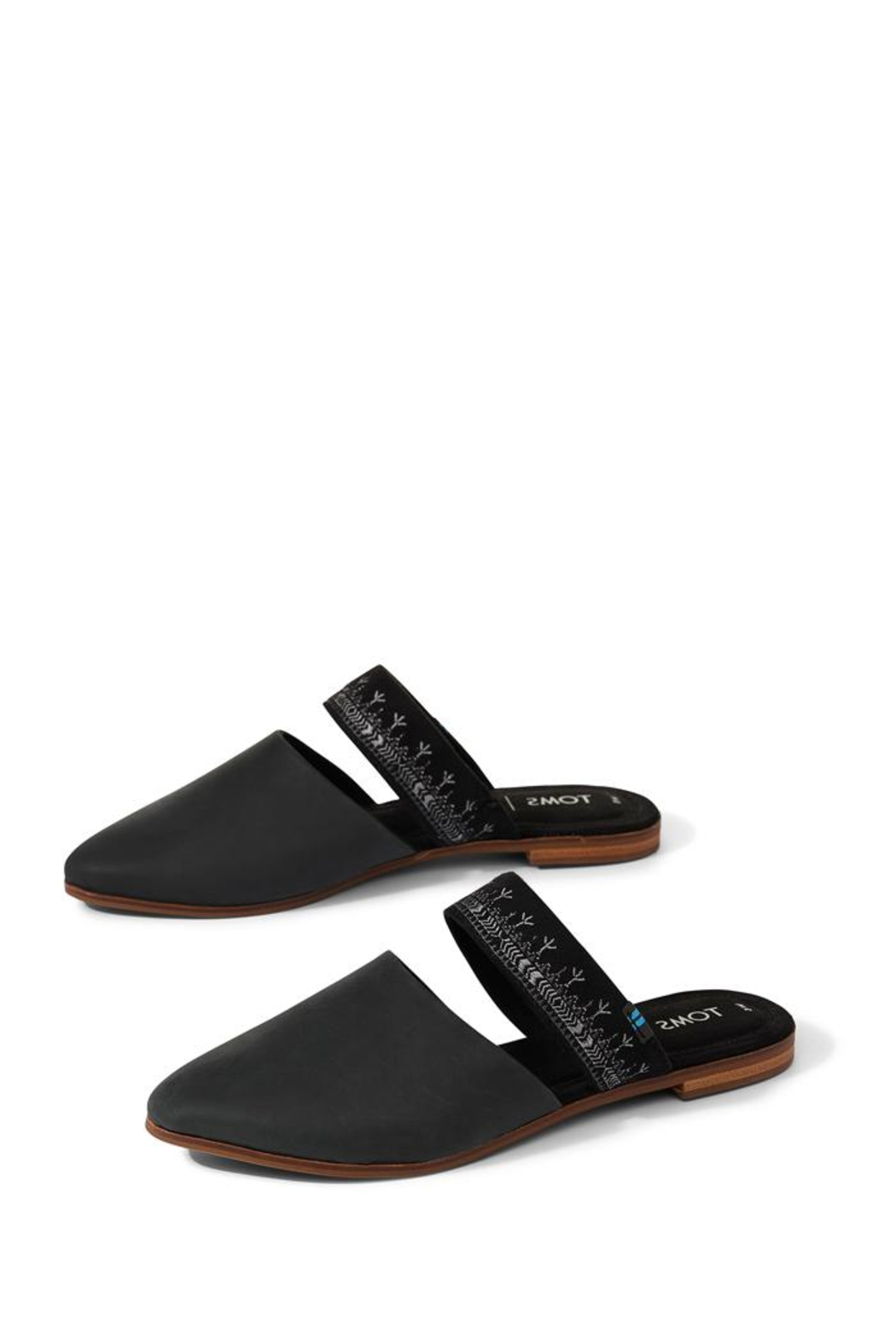 TOMS Jutti Leather Mule - Front Cropped Image