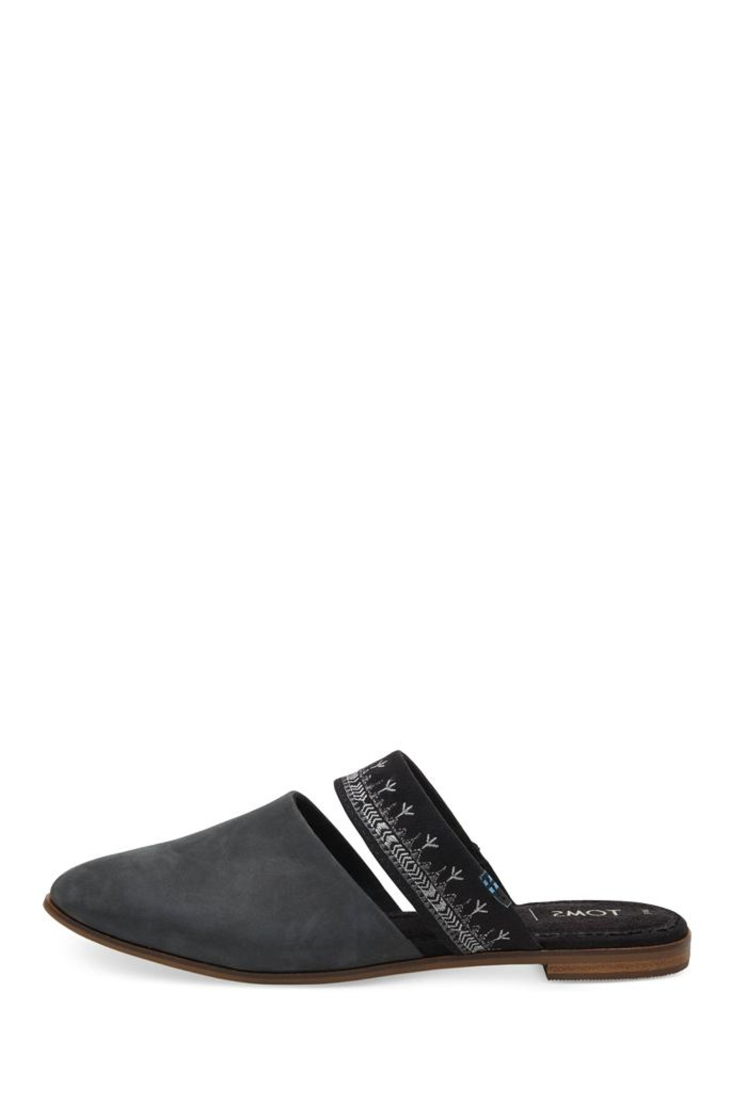 TOMS Jutti Leather Mule - Front Full Image