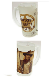 Mid-South Products JW Beer Stein - Front full body