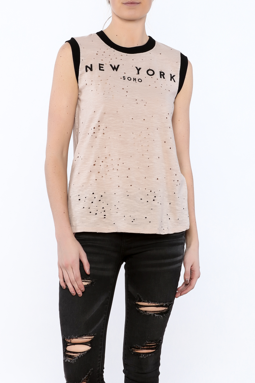 JW Designs NY Tank Top - Front Cropped Image