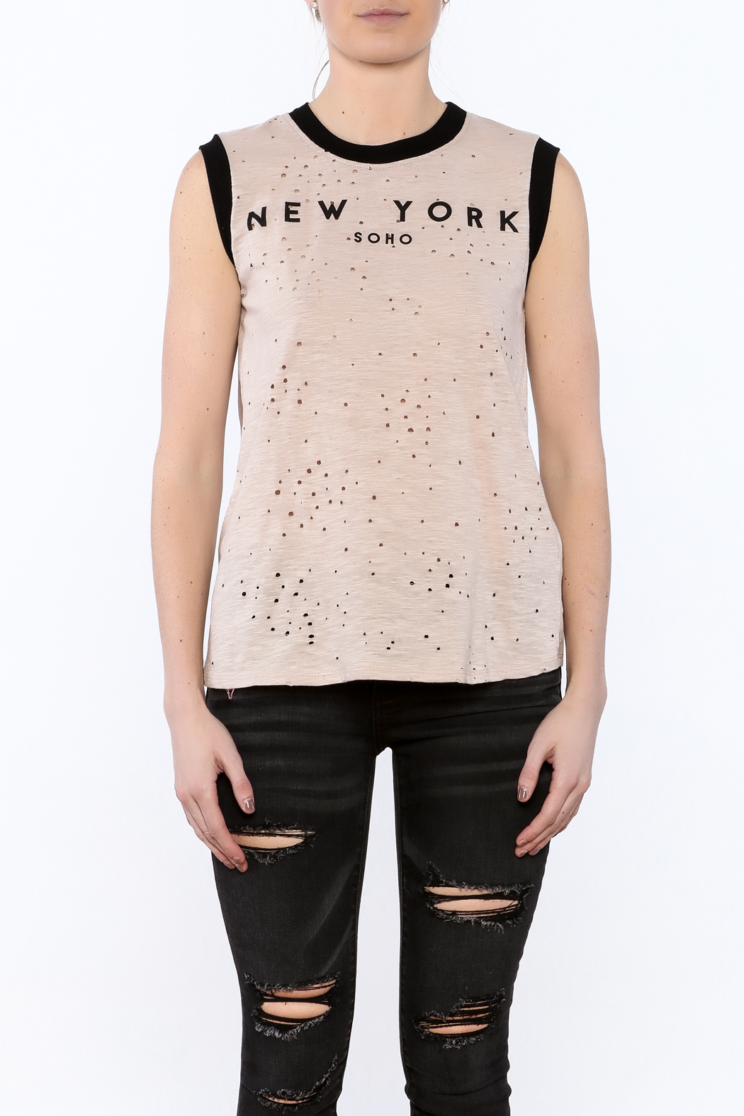 JW Designs NY Tank Top - Side Cropped Image