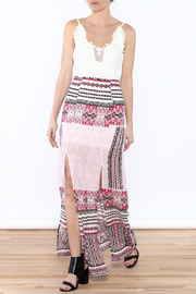 JW Designs Printed Maxi Dress - Product Mini Image