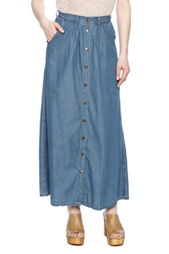 Shoptiques Product: Denim Maxi Skirt