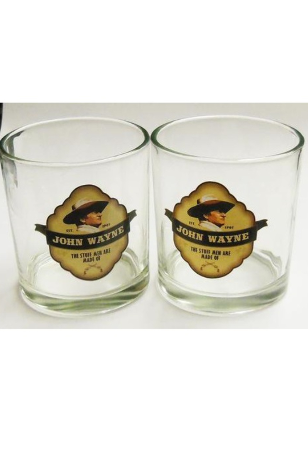 Mid-South Products JW Whisky Glasses - Front Full Image