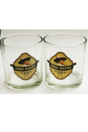 Mid-South Products JW Whisky Glasses - Front full body