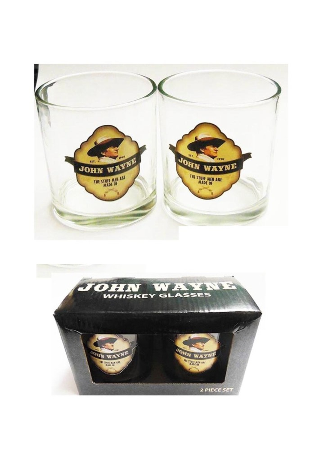 Mid-South Products JW Whisky Glasses - Main Image