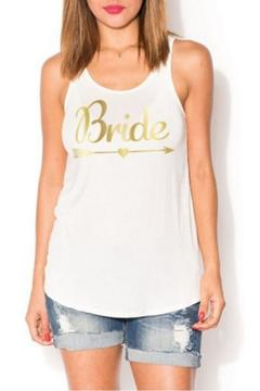 JW Designs Bride Graphic Tank - Alternate List Image