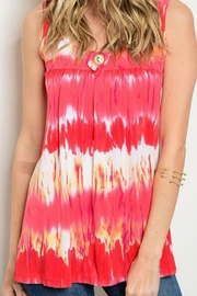 JW Designs Sleeveless Tie-Die Top - Product Mini Image