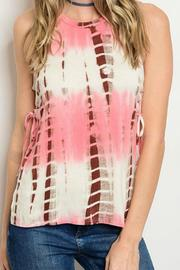 JW Designs Sleeveless Tie-Dye Top - Product Mini Image