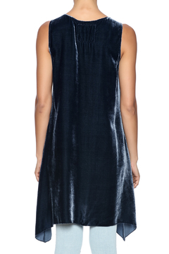 Shoptiques Product: Embroidered Velvet Tunic