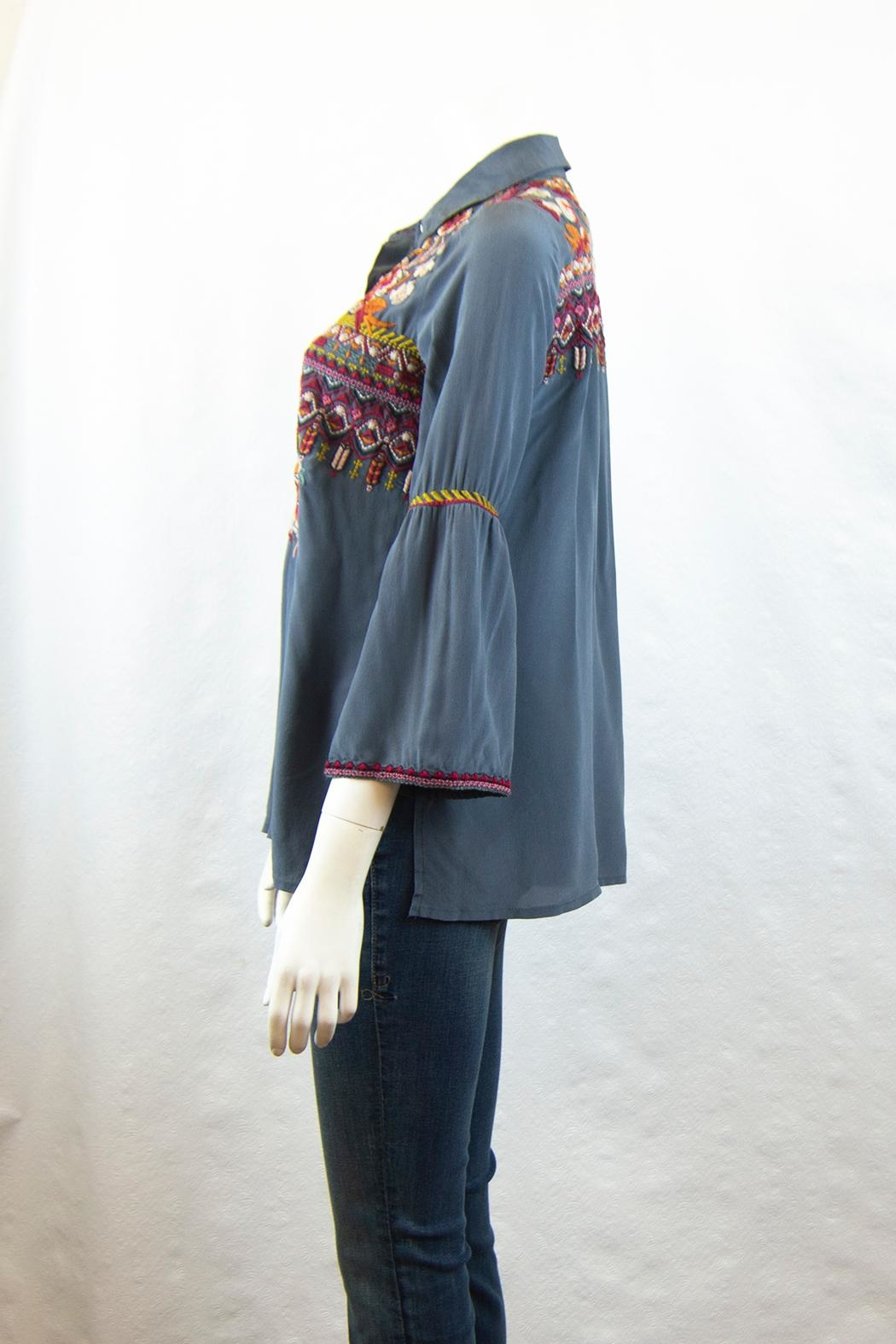 3J Workshop by Johnny Was Jyll Flare Shirt - Front Full Image