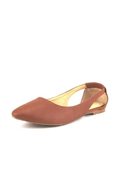 Shoptiques Product: Open-Heel Slipon Flats