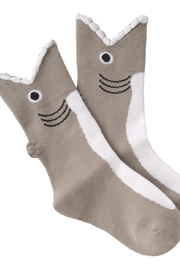 K. Bell Socks Kid's Wide Mouth Shark Socks - Product Mini Image