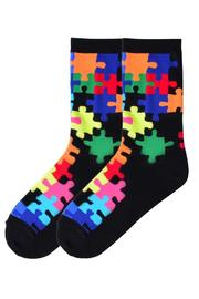 K-Bell Jigsaw Puzzle Socks - Product Mini Image