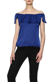 K&D London Off Shoulder Top - Front cropped