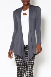 k.fisk Essential Long Sleeve Cardigan - Front cropped