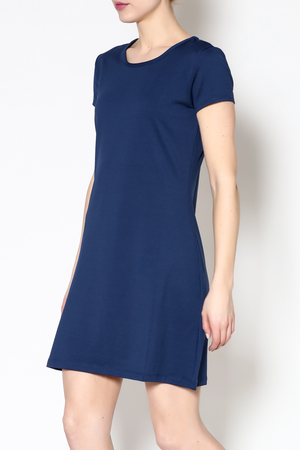 k.fisk Perfect Tee Dress - Front Cropped Image