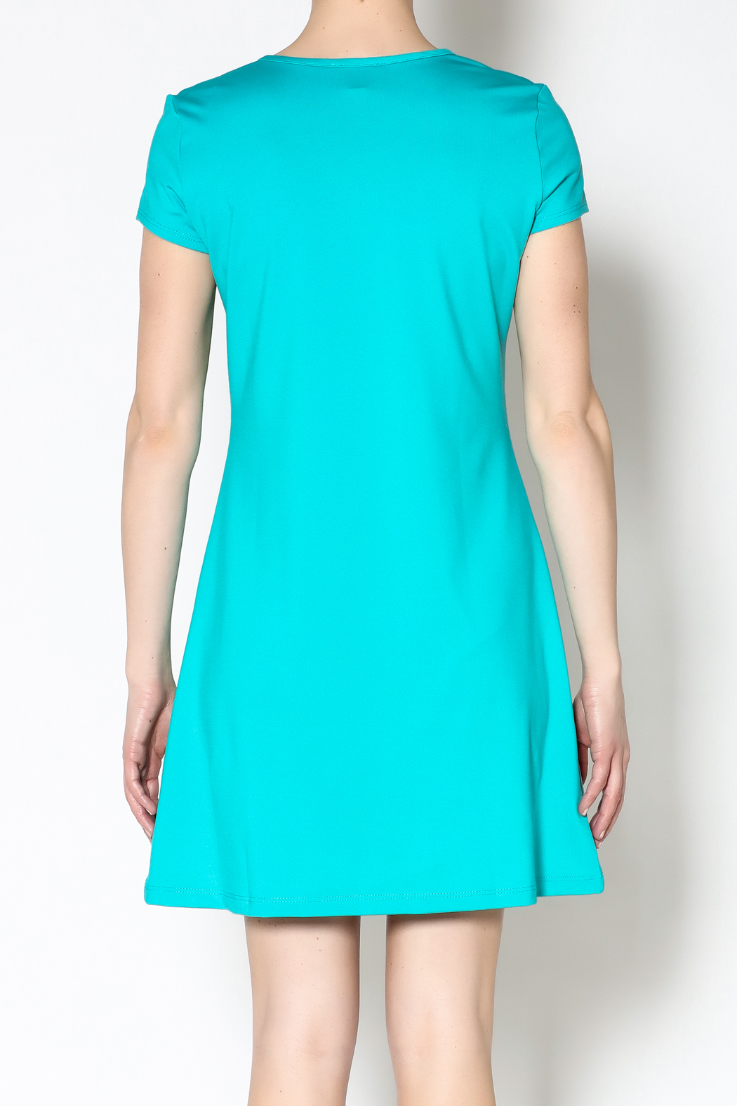 k.fisk Perfect Tee Dress - Back Cropped Image