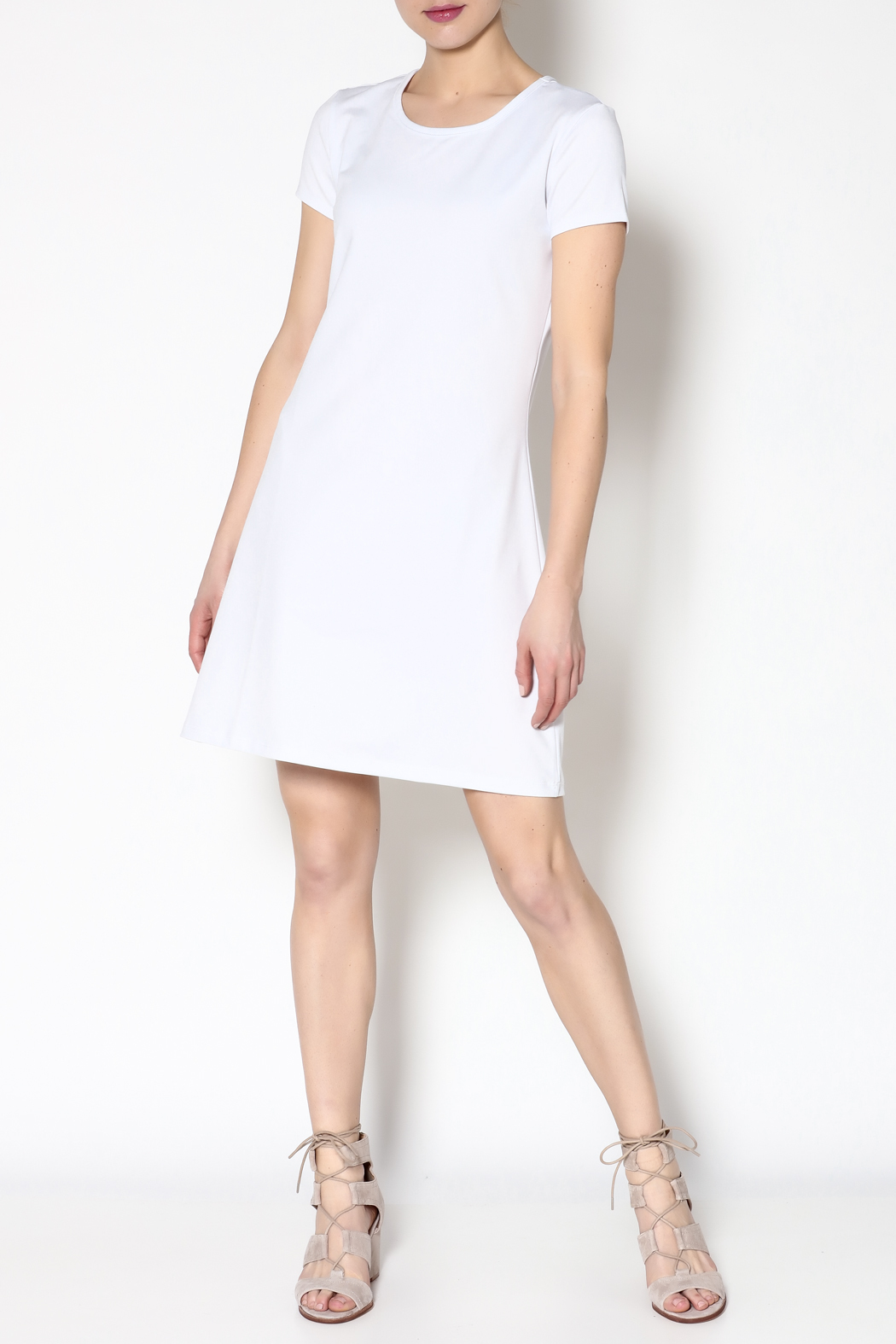k.fisk Perfect Tee Dress - Front Full Image