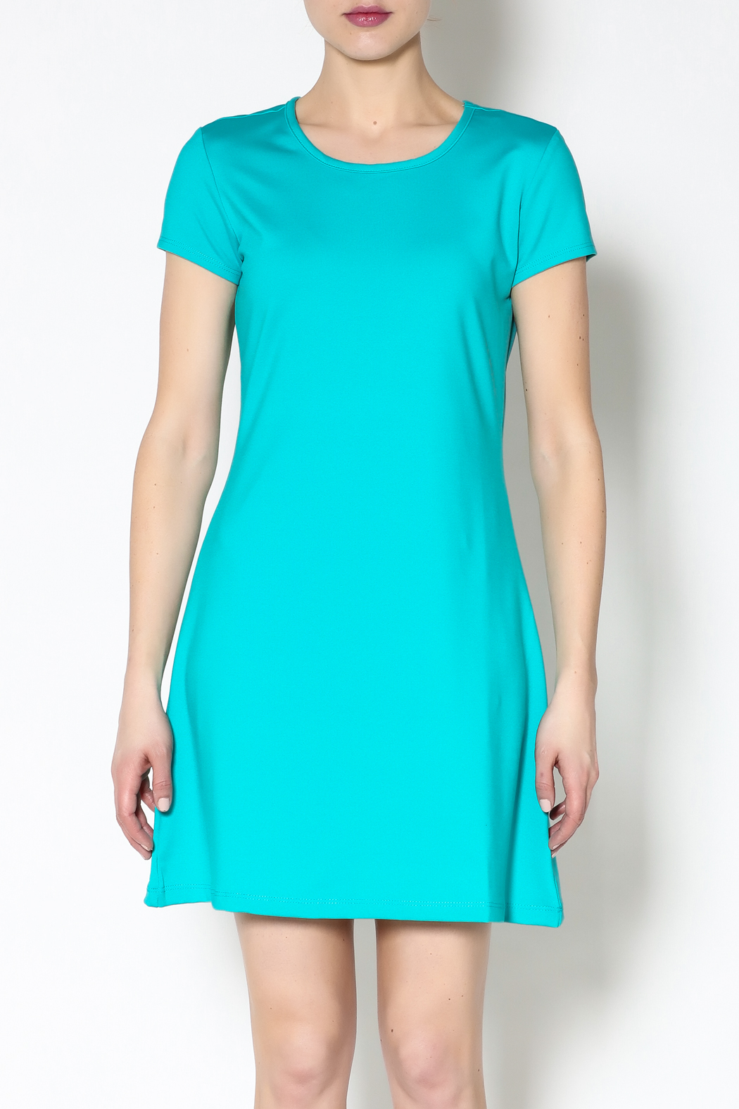 k.fisk Perfect Tee Dress - Side Cropped Image
