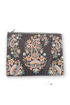 K&K Interiors Paisley Cosmetic Pouch - Alternate List Image