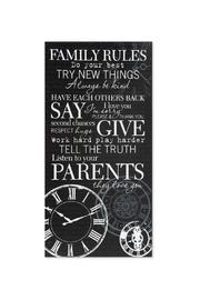 Shoptiques Product: Sign, Family Rules