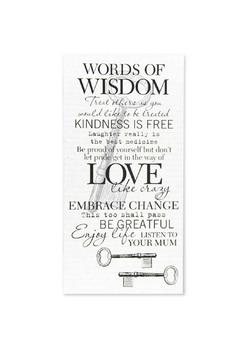 K&K Interiors Sign, Wise Words - Product List Image